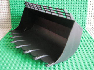 Technic Digger Bucket 13 x 23 黑色
