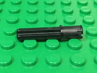Technic, Axle Pin 3L with Friction Ridges Lengthwise and 2L Axle