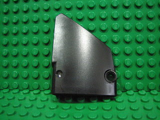 Technic, Panel Fairing #14 Large Short Smooth, Side B 黑