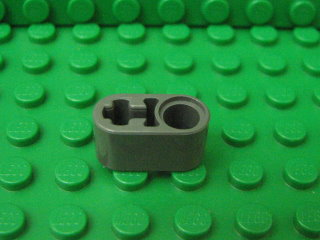 Technic, Liftarm 1x2 Thick with Pin Hole and Axle Hole深藍灰
