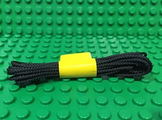 String, Cord Poly 1.2mm Thickness - 180 Cm (42042) 黑