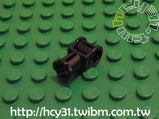 Technic Connector with Axle hole 黑色