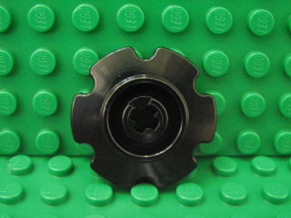 Technic Tread Sprocket Wheel Small 黑色