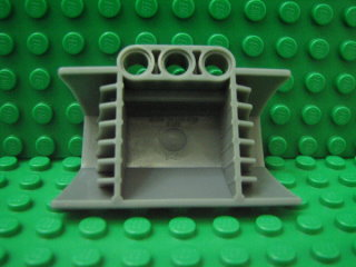 Technic Engine Block Half / Side Intake Panel 深藍灰色