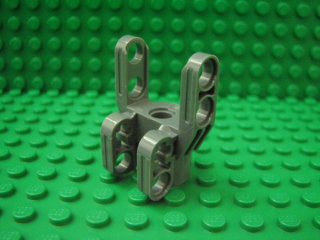 Technic, Axle and Pin Connector Block 4 x 3 x 2 1/2 深藍灰