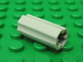 Technic, Axle Connector (Smooth with x hole + 淺藍灰色