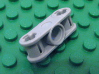 Technic,Axle Joiner Perpendicular 3L with Center Hole淺藍灰