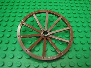 Wheel Wagon Giant (56mm D., 8 studs Dia.) 紅褐色