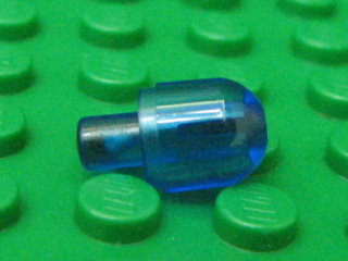 Bionicle Barraki Eye (Light Bulb Cover with Bar)透明深藍