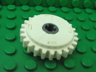 Technic, Gear 24 Tooth Clutch 白色